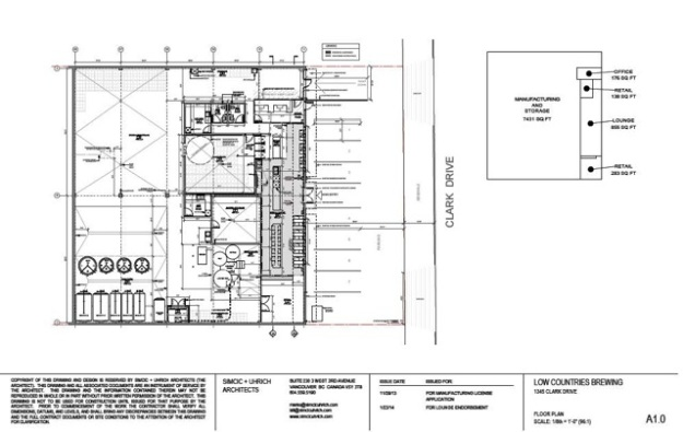 Brewhouse Layout March 2014